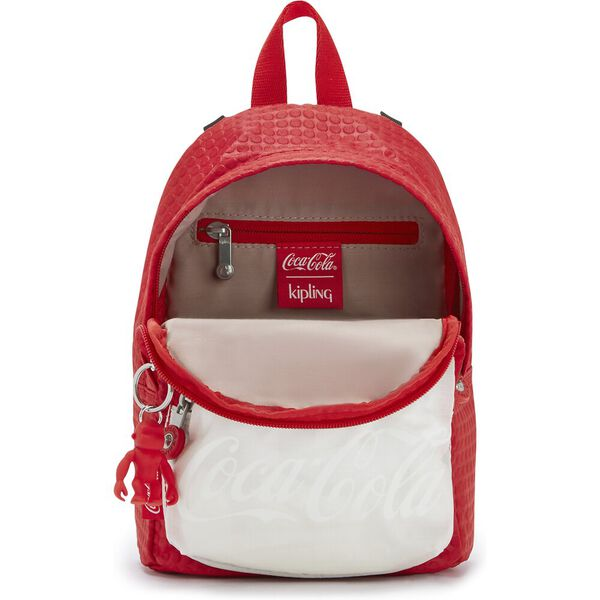 Delia Compact Small Backpack, CC Wild Red, hi-res