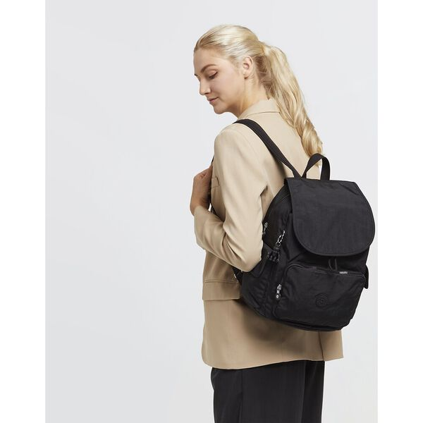 City Pack Backpack, Black Noir, hi-res