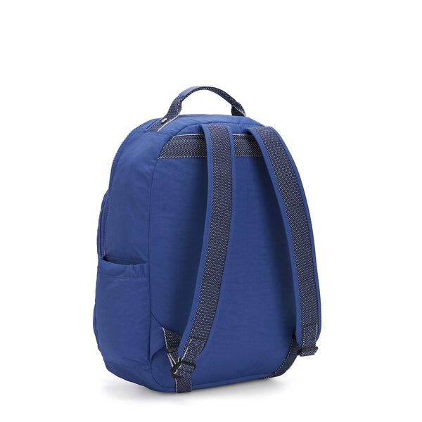 Seoul Backpack with Laptop Compartment, Wave Blue, hi-res