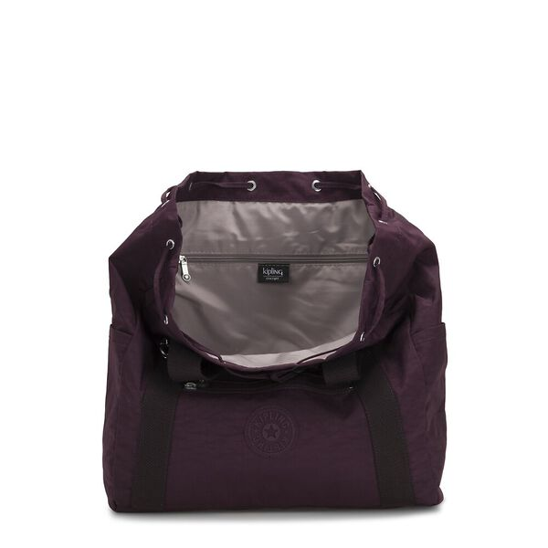 Art Backpack Medium, Dark Plum, hi-res