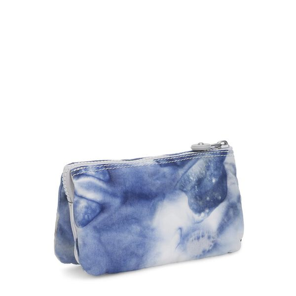 Creativity L large Purse, Tie Dye Blue, hi-res