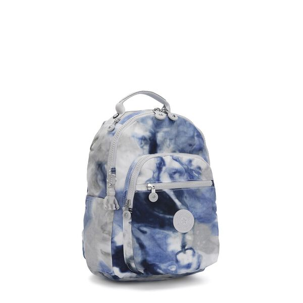 Seoul S Backpack with Tablet Sleeve, Tie Dye Blue, hi-res