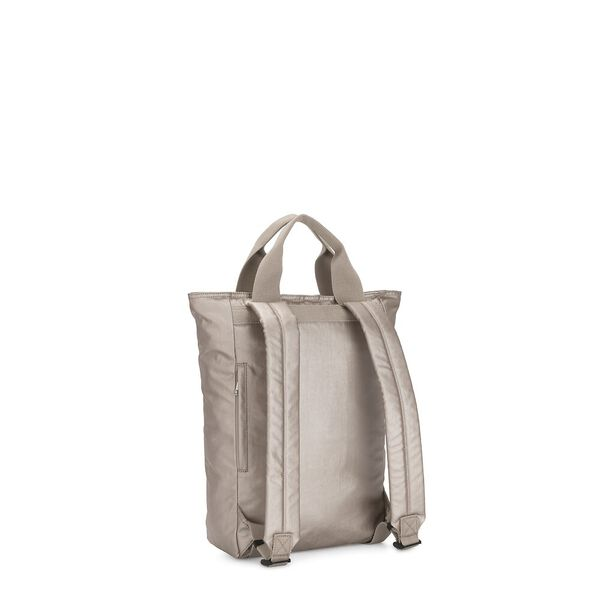 Dany Convertible Backpack/Tote Bag, Metallic Glow O, hi-res