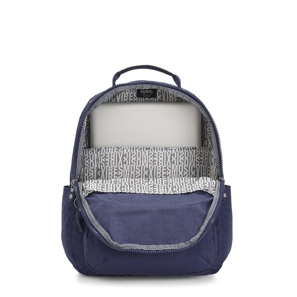 Seoul Backpack with Laptop Compartment, Pollish Blue, hi-res