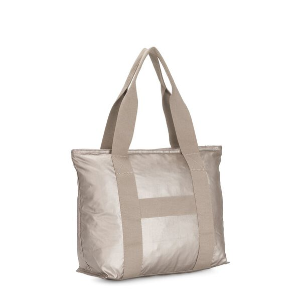 Era M Medium Tote, Metallic Glow O, hi-res
