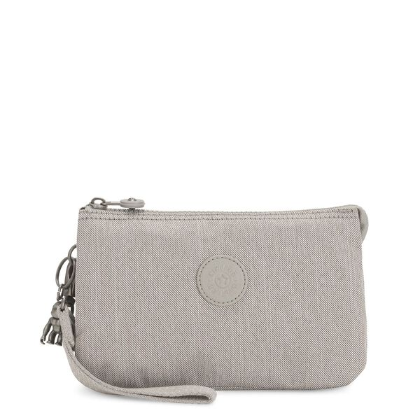 Creativity XL Extra Large Purse, Grey Beige Pep, hi-res