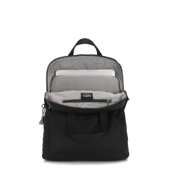 Kazuki Convertible Backpack/Shoulder Bag, Rich Black, hi-res