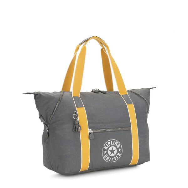 Art M Large Tote, Dark Carbon Y, hi-res
