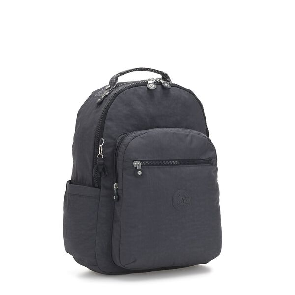 Seoul Backpack with Laptop Compartment, Night Grey, hi-res