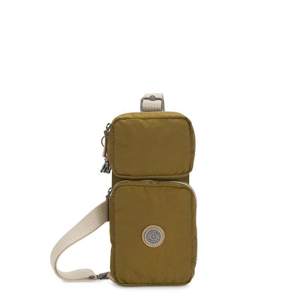 Ovando Small Crossbody Bag, Mustard Green, hi-res