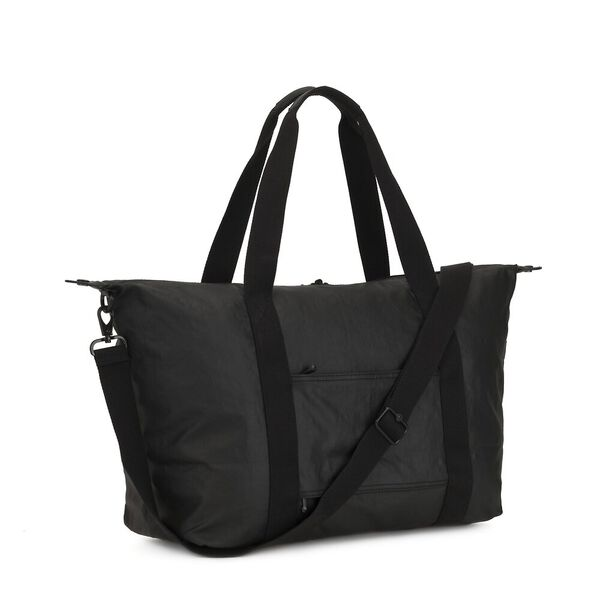 Art M Large Carry On Tote Bag, Raw Black, hi-res