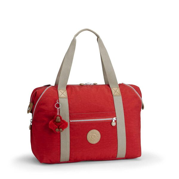 Art M Large Carry On Tote Bag, True Red C, hi-res