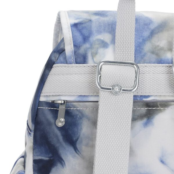 City Pack S Small Backpack, Tie Dye Blue, hi-res